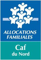 Logo CAF du Nord